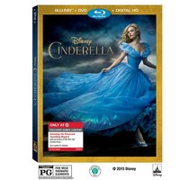 Cinderella (Blu-ray/DVD/Digital) - Target Exclusive