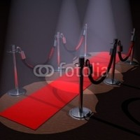 """Red Carpet - 18""""W x 14""""H - Peel and Stick Wall Decal by Wallmonkeys:Amazon:Home & Kitchen"""