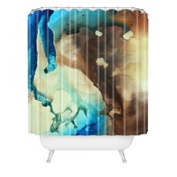 Madart Inc. Sky Drama Shower Curtain