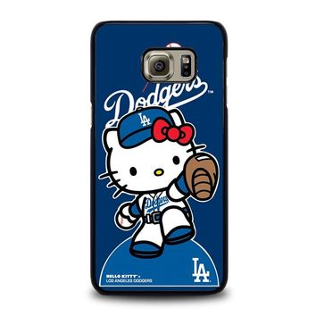 HELLO KITTY LA DODGERS Samsung Galaxy S6 Edge Plus Case Cover
