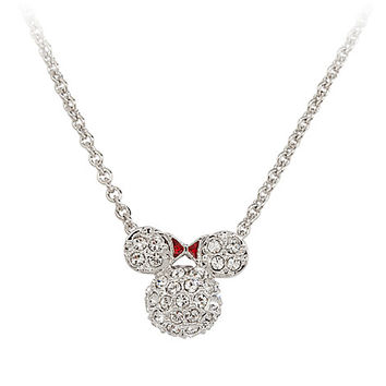 Minnie Mouse Icon Necklace by Arribas - Domed | Disney Store