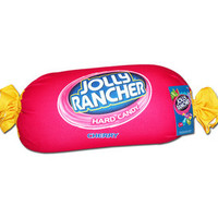 Red Cherry Jolly Rancher Squishy Candy Pillow | CandyWarehouse.com Online Candy Store