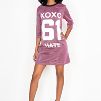 Love Hate Varsity Dress