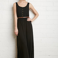 Ladder-Back Maxi Dress