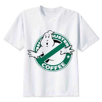 Ghostbuster Coffee T-Shirt