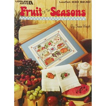 Fruit of the Seasons - Counted Cross Stitch Leaflet - Leisure Arts