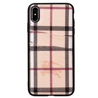 Burberry Phone Cover Case For Samsung Galaxy s8 s8 Plus S9 S9 Puls note 8 note 9 iphone 6 6s 6plus 6s-plus 7 7plus 8 8plus iPhone X XS XS max XR