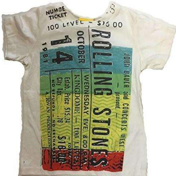 Junk Food Girls The Rolling Stones Concert Ticket T-Shirt