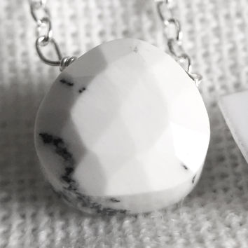 "7 - Dendritic Opal 18"" Sterling Chain - Flash Sale Pricing"