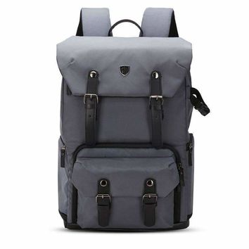 Bag smart Canvas Leather Camera Backpack, Bags