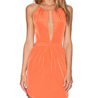 Assali Cruel Mini Dress in Orange