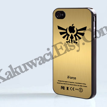 iForce Zelda - iPhone 4 case - iPhone 4S case - Samsung Galaxy S3/S4 - iPhone case - Hard Plastic - Case Soft Rubber Case
