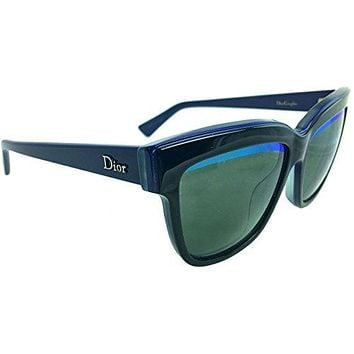 Christian Dior Graphic/S 388 3N Sunglasses Black Blue Green / Green Blue 55mm