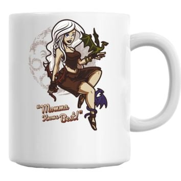 Dragon Momma Pin Up Mug
