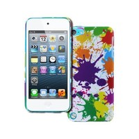 Empire Slim Fit Paint Splatter White Case for Apple iPod Touch 5Gen 5th Gen