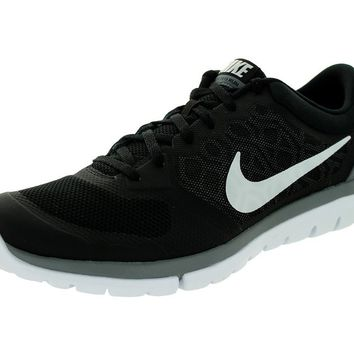 Nike Men's Flex 2015 Rn Black/White/Cool Grey Running Shoe 11 Men US