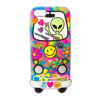 Silicone Light Up Groovy Alien Cover for iPhone 5, 5s and 5c