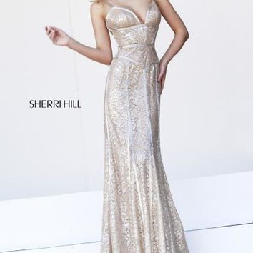 Two Straps 2014 Sherri Hill Homecoming Dress 11157