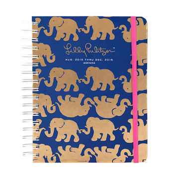 LILLY PULITZER: Large Agenda - Tusk in Sun