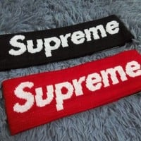 ca auguau new Cool 14 FW Supreme Headband For Adult.