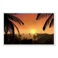 Last Light of the Sun Posters from Zazzle.com