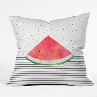 Elisabeth Fredriksson Pretty Watermelon Throw Pillow
