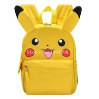 New Fashion Pikachu Boys Girls School Bags Kids Cartoon Students Backpack Bag For Children Gifts
