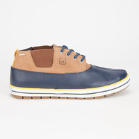 Sperry Fowl Weather Mens Chukka Boots Navy  In Sizes