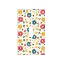 Spring Colors Light Switch Cover