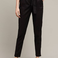 Paperbag-Waisted Joggers