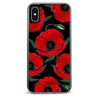 Red Poppy iPhone Xs Max case