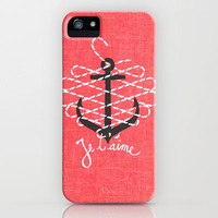 Je t'aime iPhone Case | Print Shop