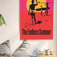 Bruce Brown Films Endless Summer 50th Anniversary Edition Poster - Urban Outfitters