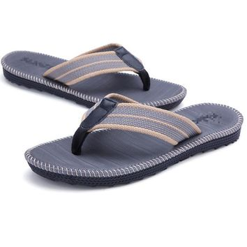 Men's Beach Lovers' Comfortable In Summer Flip Flops