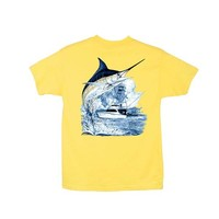 Palmetto Moon | Guy Harvey Youth Marlin Boat T-Shirt
