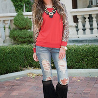 Casual Sequin Patchwork Sweater