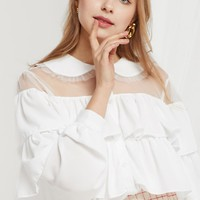 Gia Tiered Ruffle Blouse (Pre-Order)