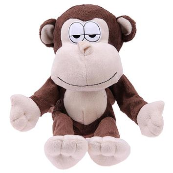 Funny Talking Monkey Laugh Animal Robot Toy Recording Sound Toy for Kids Cute Story Telling Baby Playing Doll Children Gifts
