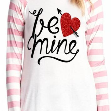 "The ""Be Mine"" tee"