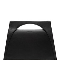 J.W. Anderson Moon Leather Clutch Black