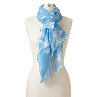 Manhattan Accessories Co. Palm Tree Oblong Scarf