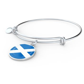 Scottish Pride - Bangle Bracelet