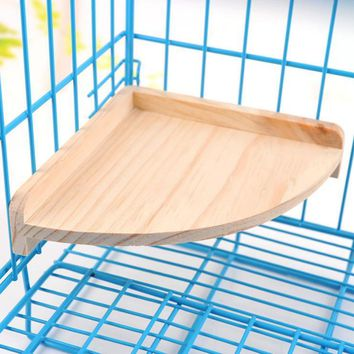 Wooden Hamsters Cage Accessory - Platform For Small Animals