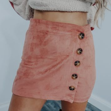No One Compares To You Shorts: Blush
