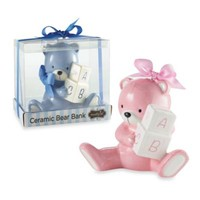Mud Pie® Bear Piggy Bank