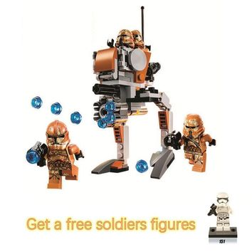 Star Wars Force Episode 1 2 3 4 5 Bela Compatible Legoe  giftss Compatible Space  Royal Army Imperial Troop Transport Building Blocks Bricks Toys AT_72_6