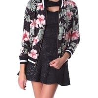 Tropical Myth Bomber Jacket