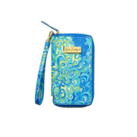 Lilly Pulitzer Tiki Palm iPhone 6 Wristlet