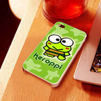 keroppi - for iPhone 4 case, iPhone 5 case and Samsung Galaxy s3 case, sasmsung s4 case