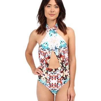 6 Shore Road by Pooja Cabana One-Piece Cuban Floral - Zappos.com Free Shipping BOTH Ways